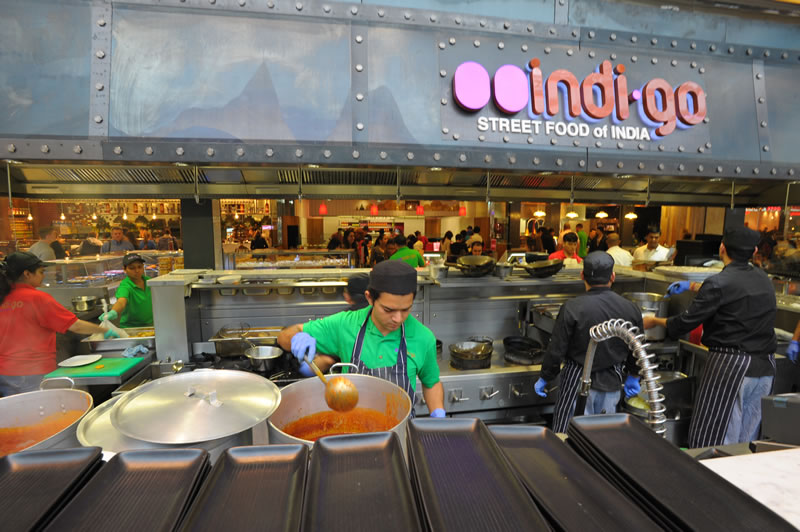 Indi-Go Indian Street Food Westfield Signage - Design