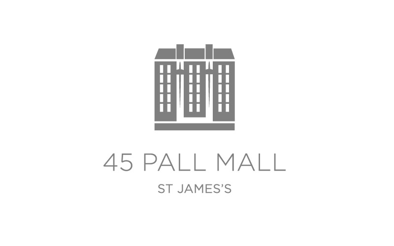 45 Pall Mall St James Logo - Design