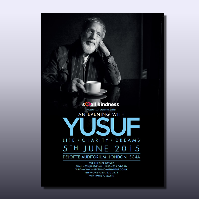 Small Kindness Yusuf Islam Poster - Design
