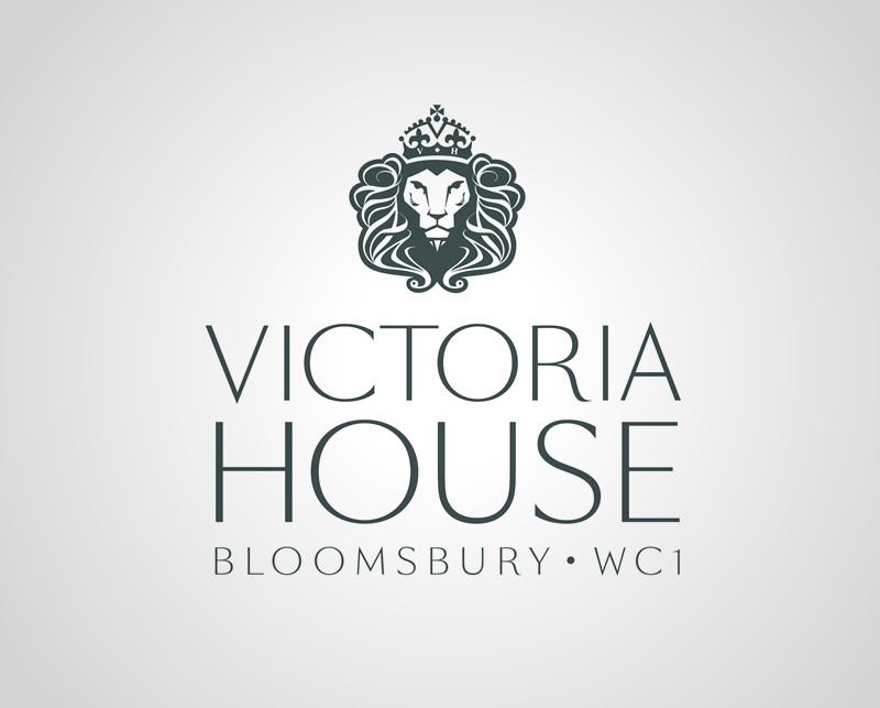 Victoria House Bloomsbury WC1 Logo - Design